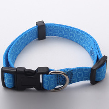 personalized polyester heat transfer print pet dog collar for decoration