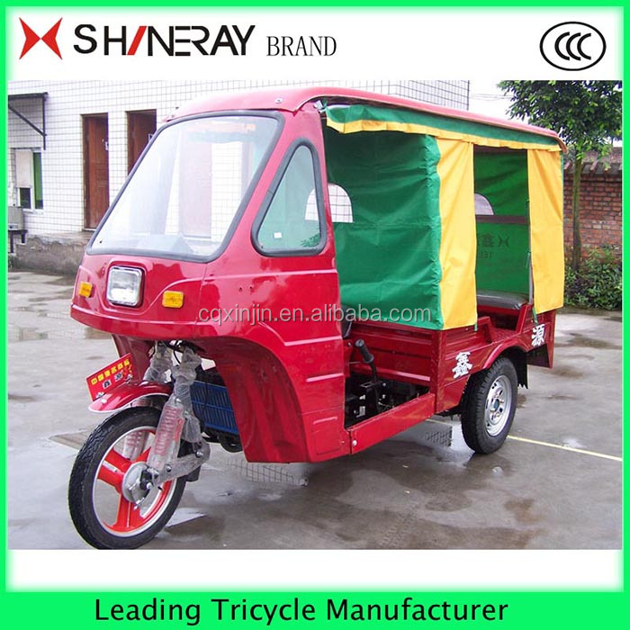 150cc Passenger three wheel tuk tuk Taxi motor trike for sale