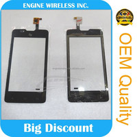 fast delivery for fly IQ 449 front touch digitizer lens ,cheap&new