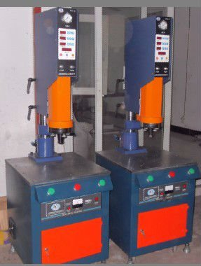 Machine Plastic for plastic and fabric welding