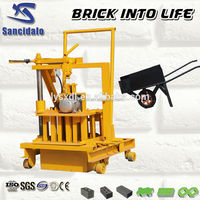QT40-3C mini manual brick block making machine united arab emirates