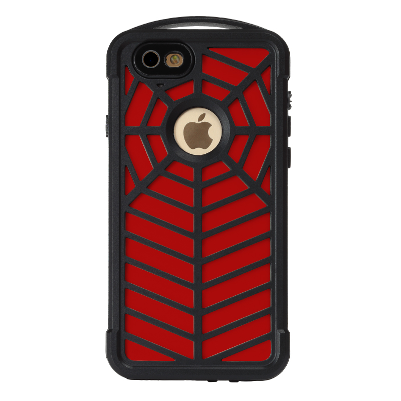 Popular Case Waterproof hard Shockproof Dustproof Full Protective Spider Web Design TPU Case For iPhone 7