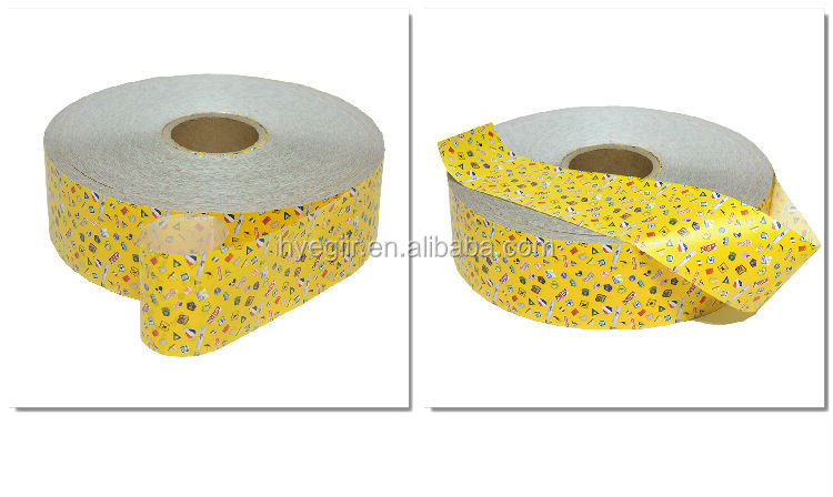 Beautiful image printed flexible polyethylene medical base material for wound plaster
