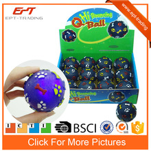 5.5cm light up toys bouncing ball toy for promotion
