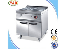 Cooking equipment free standing commercial 4-tank gas bain marie prices with cabinet