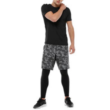 Casual mens gym wear yoga suits (T-shirt and pants)