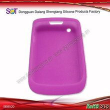 Soft purple silicon mobile phone case
