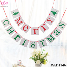 Marry Christmas Decoratioon Letter Bunting Christmas Banner