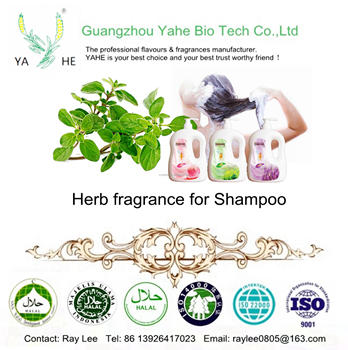 Wholesale price with longlasting and good smell Herb fragrance for hair liquid products brand fragrance for shampoo