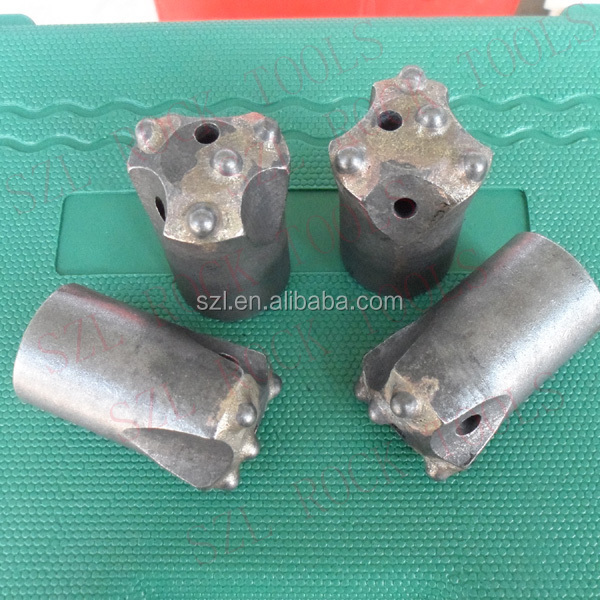 tungsten carbide tapered button bits/blast furnace tap hole tools made in china