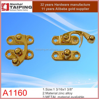 decorative swing lock&latch for children toys/material in zinc alloy/rusting proof