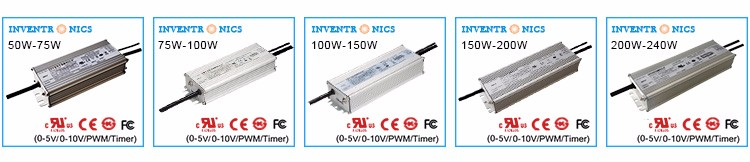 Inventronics EUG-xxxSxxxDT Series 50W-240W_2_UL FCC