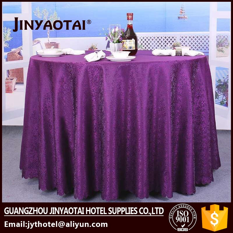 100% polyester plastic heavy duty weight tablecloth