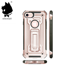 Anti Shock Kickstand Mobile Phone Case For iphone 7 Case