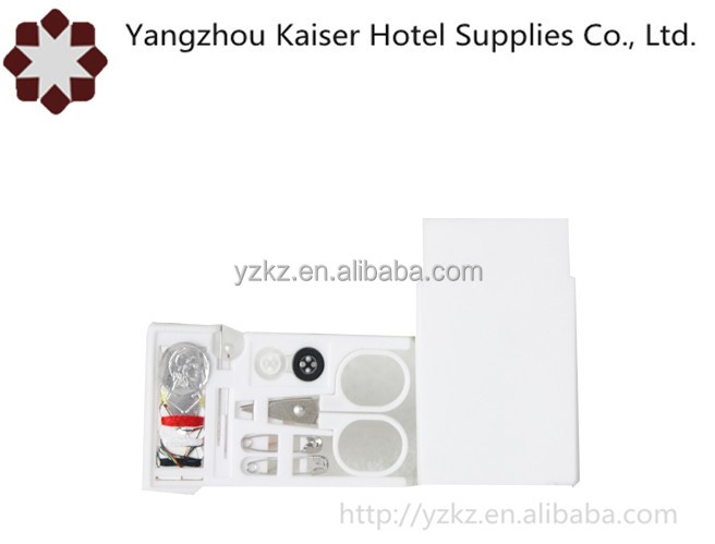 hotel amenities cheap price sewing kit set for hotel