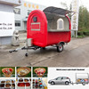 hot selling removable ice cream cart / hot dog food trailer / snack vending truck