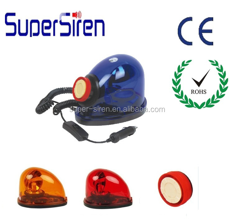 Car security accessories auto car used siren and revolving light