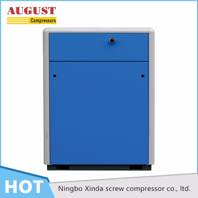 SFB30B 30KW/40HP 10 bar AUGUST stationary air cooled screw air compressor, silent type air compressor