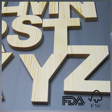 wooden letter sign wood painted decor . letter