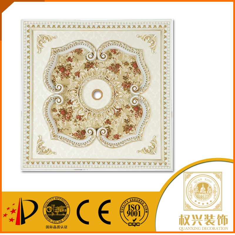 fireproof plaster of paris ceiling for hall