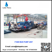 F1600 Skid Mounted Mud Pumping Unit