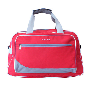 China Wholesale Packable Light Weight Large Capacity Polyester Travel Bag