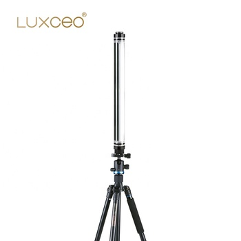 LED Studio Lightings with Remote Control Bi-color Li-ion Battery Powered Tripod Stands Camera Lights Kit