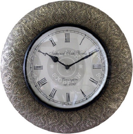 Jodhpur Metal Wall Clock