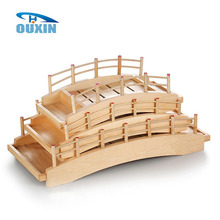 Popular Wooden Bridge Shapes Fruit Dishes Trays