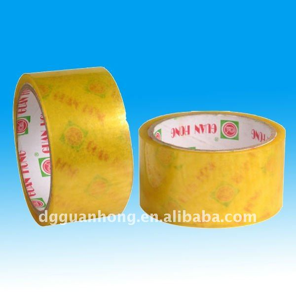 "clear transparent carton sealing 3"" cheap price packaging tape BOPP Self adhesive packaging tapes"