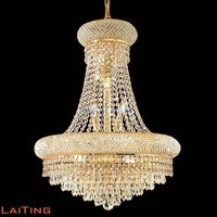 Traditional pendant light K9 crystal chandelier fancy crystal light