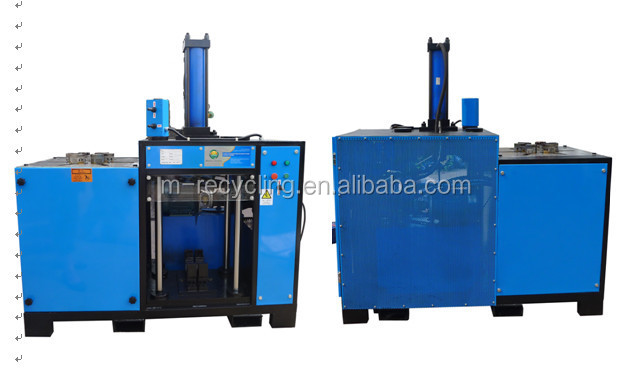 Scrapping industrial electric motor recycling machine dz 4 for Electric motor recycling machine