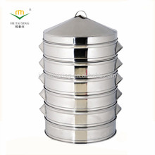 Practical & Economic Commercial Stainless Steel Food Steamer Bun Steamer for Commercial Catering Supply
