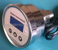 UIY3 back connection digital pressure gauge