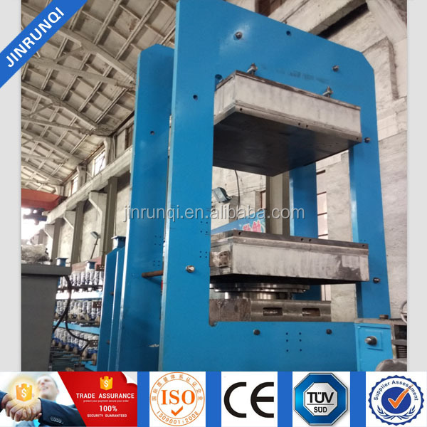 Rubber Solid Tyres Molding Vulcanizing Press Machine