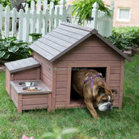 outdoor wooden dog house dog cage pet house