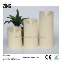 magic candle rough candle wax price of led candle light (WM-103)