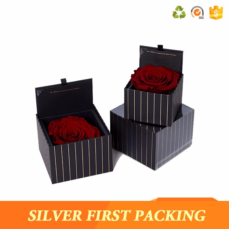 New Design Fancy Handmade Empty Paper Luxury Wedding Invitation Box Wedding Favor Boxes