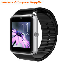 Alibaba Best Seller Gt08 Smart Watch Mobile Phone Android Dz09 Sport Band Sim Kids V8 Ce Rohs Y1 Wear U8 Wholesale Price OEM