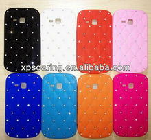 Diamond stars silicone case for samsung galaxy tren duos s7562 case