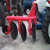 farm tractor small disc plough cultivator