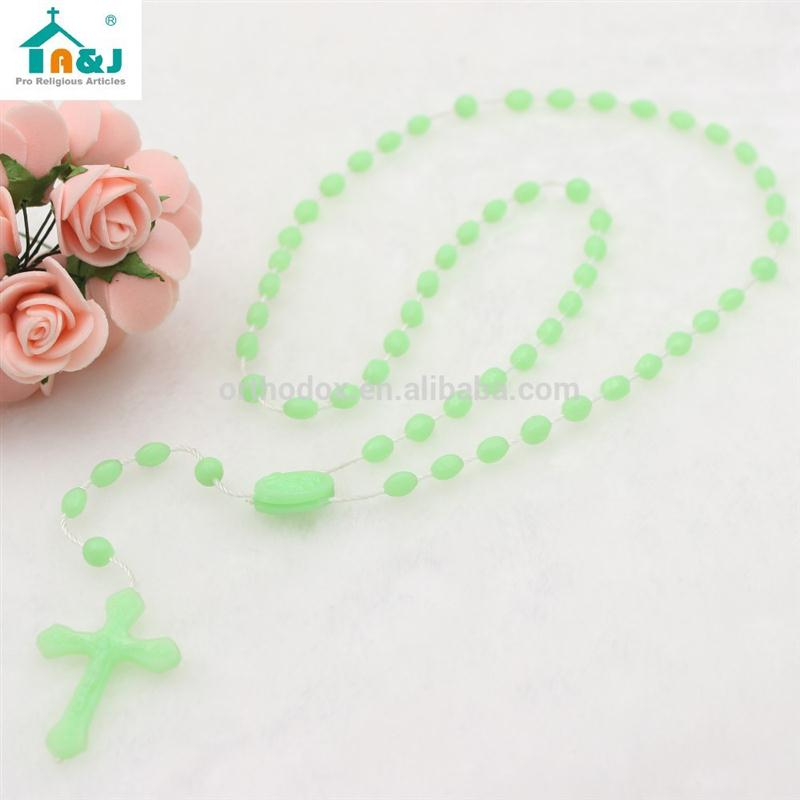 Over 10 years experience plastic bead car rosary New Sales