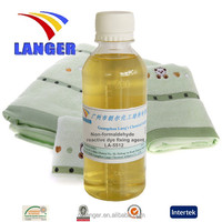 formaldehyde free fixing agent for textile industry
