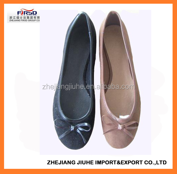 Ladies Flat Shoes Ballerina Style