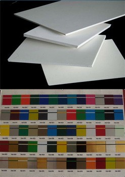 Amazing discount China 3mm thin foam sheet /pvc foam board /lightweight