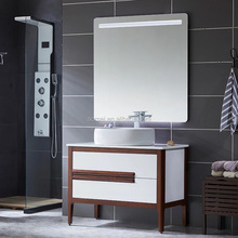 80CM Modern style Smart LED mirror bathroom cabinet
