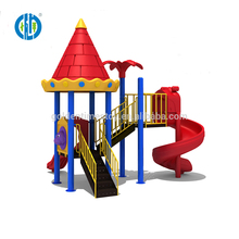Entainment commercial plastic children small outdoor playground equipment for selling