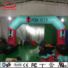custom inflatable airtight pvc advertising arch with logo