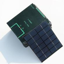High Quality 2W 6V Solar Cell Solar Module Polycrystalline Small Solar Panel For DIY Solar Battery Charger 110*136MM