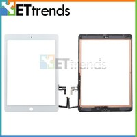 Factory price touch screen glass digitizer home button assembly for ipad5